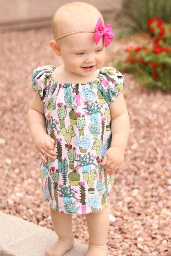 Cactus Everywhere 1112 To Girls Dress Newborn SpringEtsy 5LcRj34Aq