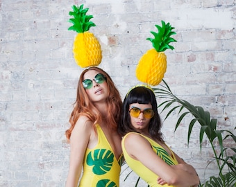 Fold-Away Pineapple Headpiece