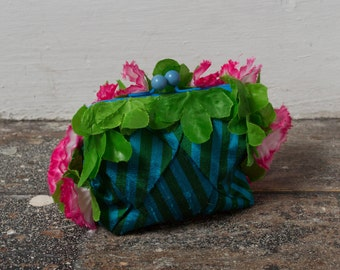 Blue Pineapple Coin Purse