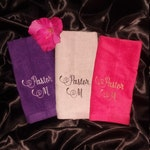Pastor Apostle Prophet Evangelist Teacher Clergy Towel | Set of 3