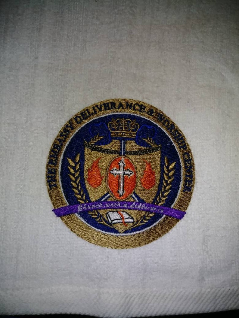 Deluxe Embroidered Towels image 0