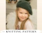 KNITTING PATTERN classic beret Dora