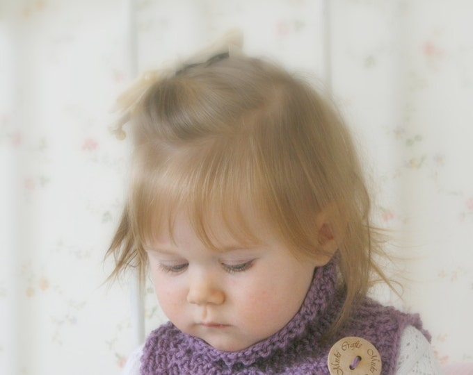 KNITTING PATTERN  Alex cowl (baby, toddler, child sizes)