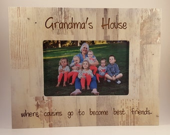 Grandma's House frame 4x6