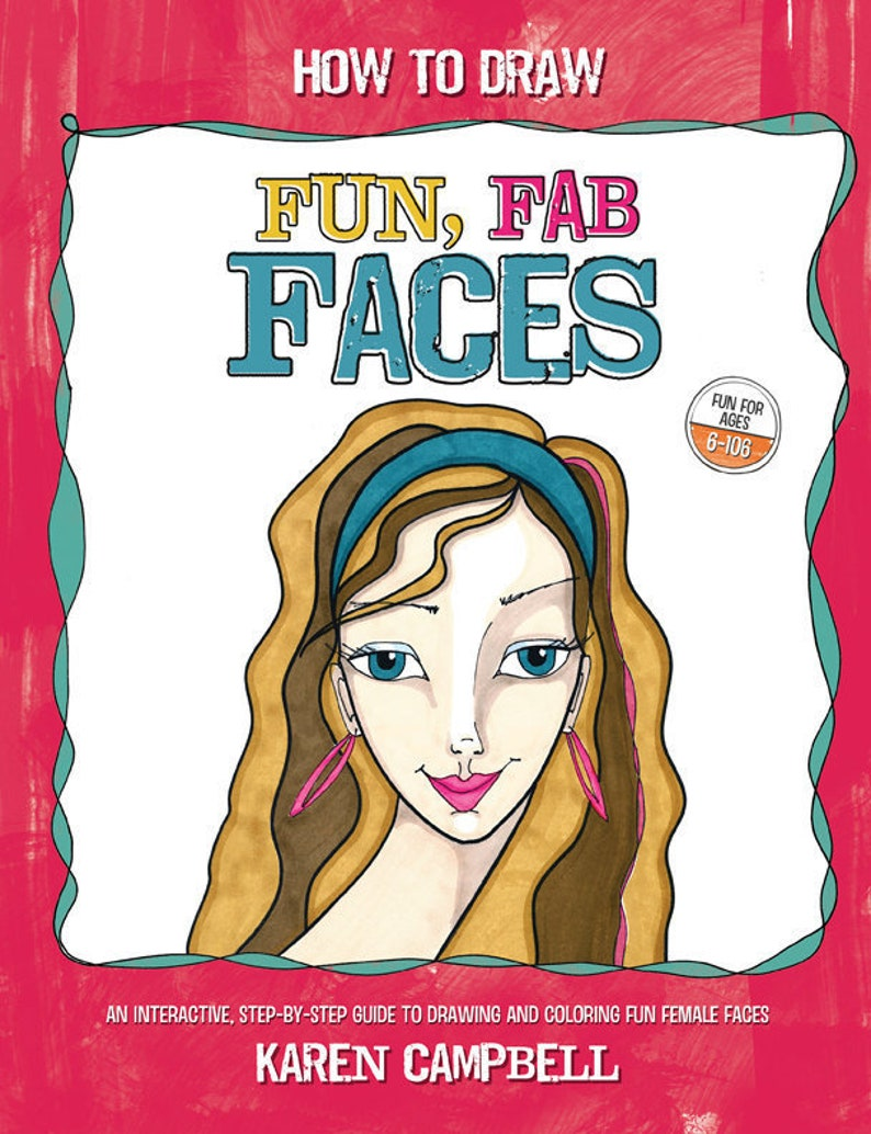 How To Draw Fun Fab Faces image 0