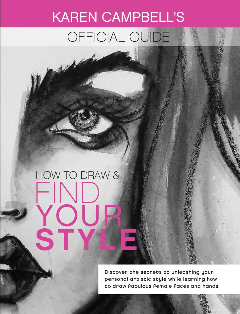 How to Draw and Find Your Style Official Guidebook by Karen image 0