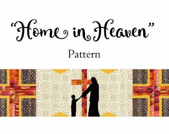Row by Row Experience 2016 Home in Heaven Pattern Only {Home Sweet Home}