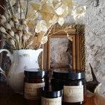 Apothecary Amber 60\120\220\500 ml candle - candele cera di soia - vasi di vetro ambrato - stoppino legno - vegan e crueltyfree - mimiwild