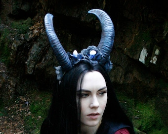 Aoudad Style Replica Horns