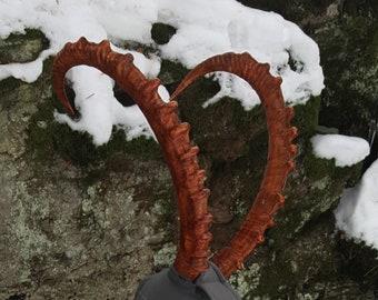 Large Ibex Replica Horns