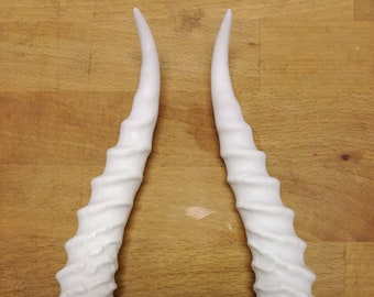 2a2fb8207 Replica horns antlers and resin masks. by BlackCraneCreations