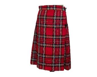 Royal Stewart Modern Stewart girls skirt braces bow outfit Christmas