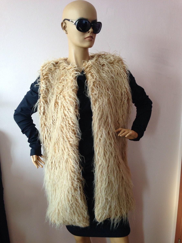 gilet fausse fourrure femme veste en fourrure sans manches. Black Bedroom Furniture Sets. Home Design Ideas