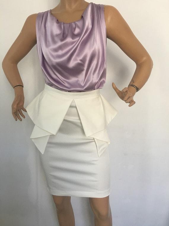 07c3e146919 Formelle au crayon jupe en coton   genou Longueur jupe moulant
