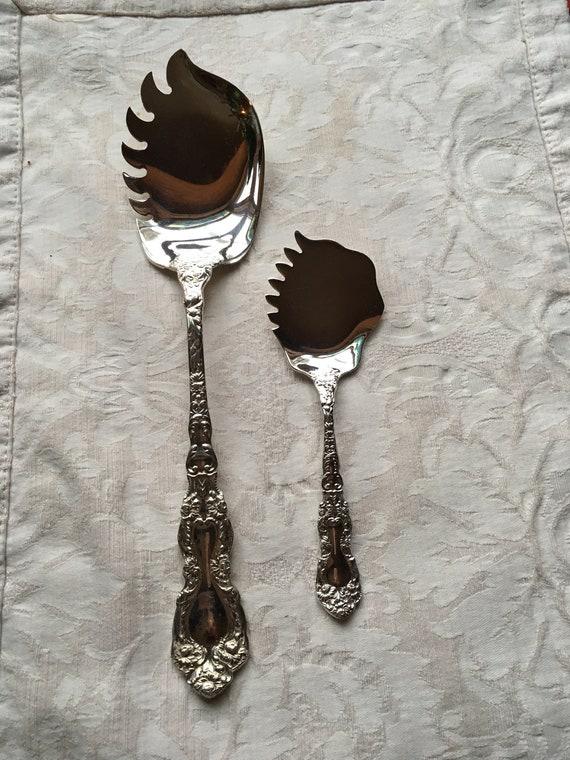 "Imperial Chrysanthemum by Gorham Sterling Silver Ice Cream Spoon Custom 5 3//4/"""