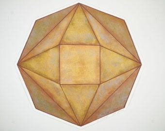 Octagonal Placemat - Set of Four