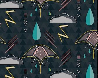 "Rain Storm // Giclee Art Print - 12"" x 12"""
