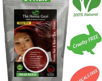 Henna Hair Dye Etsy