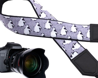 Penguin Design camera strap suitable for all professional and normal cameras.