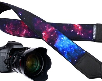 Galaxy design camera strap suitable for all professional and normal camera straps.