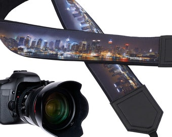 New York City Skyline design camera strap for city lovers suitable for all professional and normal cameras.