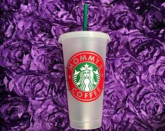 Starbucks Cold Cup Venti Teacher Gift Personalized Bridesmaid Mothers Day Appreciation Custom Birthday