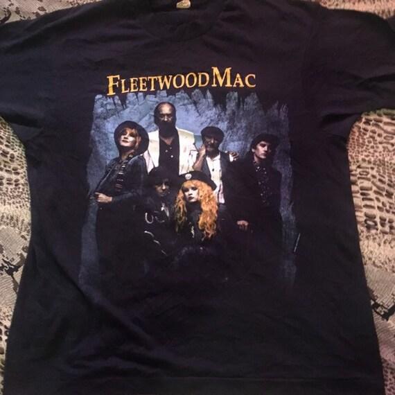 Vintage 1990 fleetwood mac promo shirt