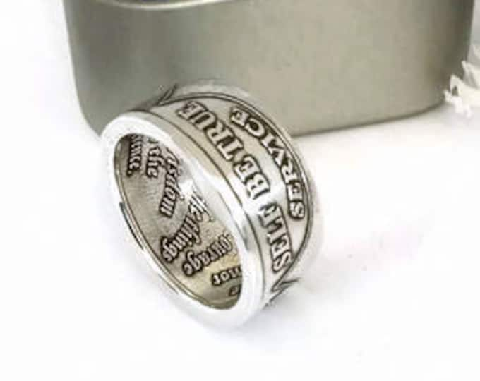 Alcoholics Anonymous Sobriety Chip Ring