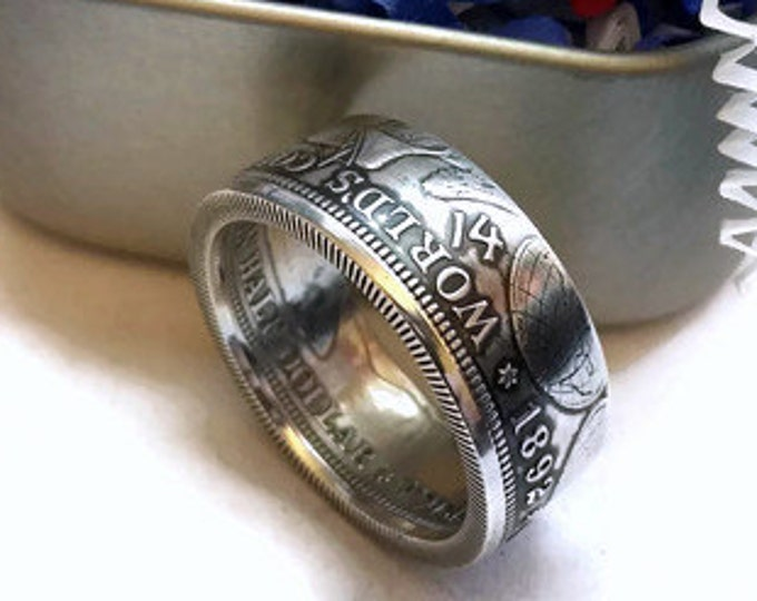 Columbian Exposition Coin Ring