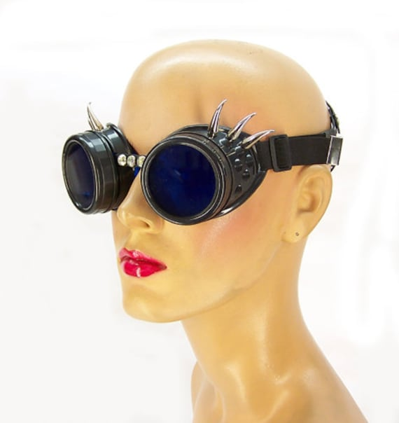 Aurora Lights Spiked Goggles by Axovus