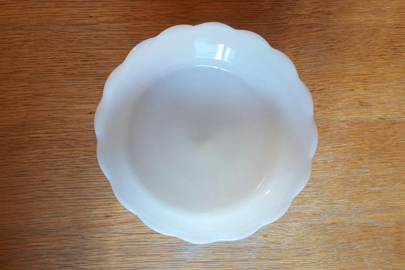 Brody White Milk Glass Pedestal Serving Bowl