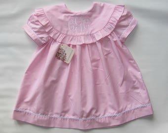 Spring Monogram Dress, Personalized Dress, Summer Dress, Monogrammed Dress, Monogram, Toddler Dress, Girls Dress, Birthday Dress