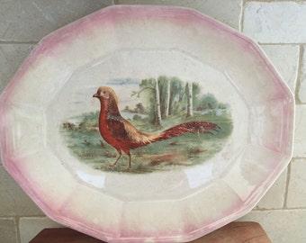 SALE, SALE,SALE - Pheasant Platter