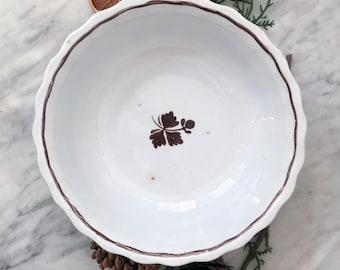 Antique Ironstone Bowl