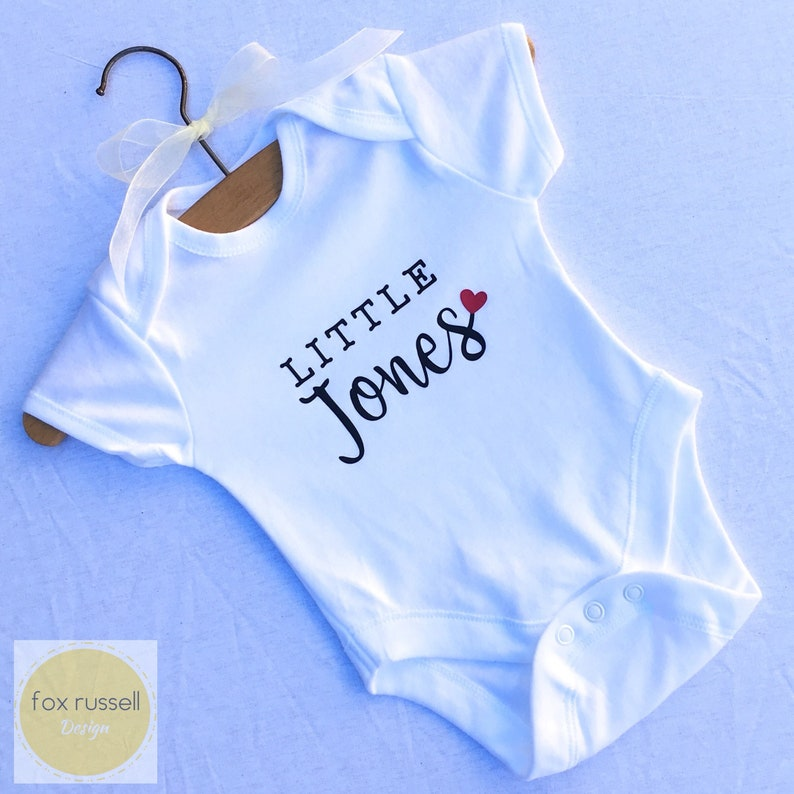 Personalised Football Baby Vest Grow Bodysuit Pregnancy Baby Announcement Gift