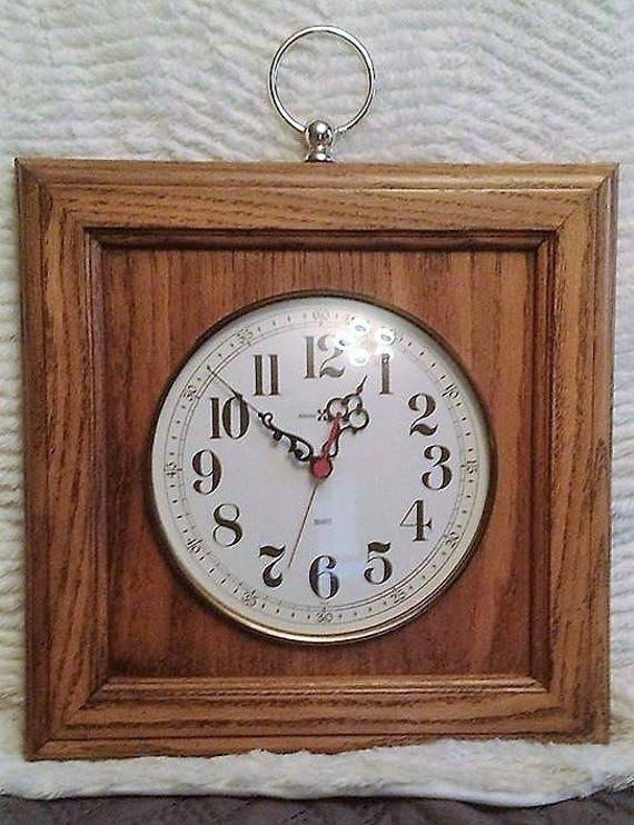 Vintage Howard Miller Wall Clock Etsy