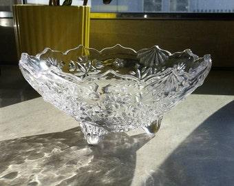 Crystal Footed Dish