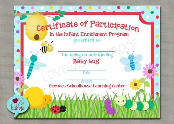 Toddler Award Certificate Va517 Pack Of 30 8 5 X 11