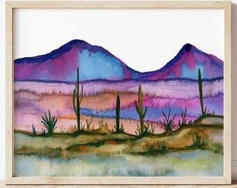 Desert Wall Art Print