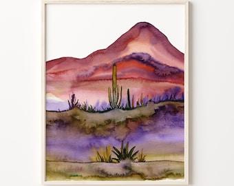 Cactus Print, Cactus Wall Art, Cactus Poster, Cactus Plants, Desert Print, Plant Wall Decor, Cactus Decor, Cacti Art Print