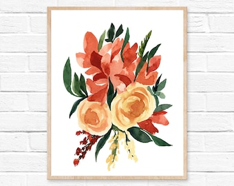 flower wall art flower print botanical print wall art floral print botanical art home decor wall decor flower wall decor flower art flower