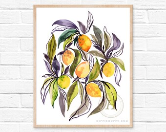 Lemon Art Prints