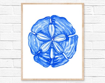 sand dollar watercolor sand dollar print sand dollar art watercolor painting ocean beach art beach beach decor illustration nautical art