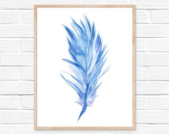 feather watercolor feather art feather print feather painting watercolor painting feather wall art watercolor print watercolor feathers art
