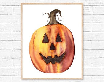 pumpkin watercolor watercolor pumpkin pumpkin painting watercolor pumpkin watercolor painting halloween decor autumn halloween fall pumpkins