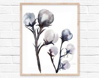 Cotton Wall Art Print