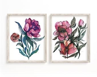 Flowers Watercolor Prints