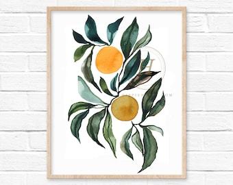 Orange Art Print by HippieHoppy