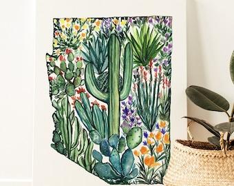 Arizona State Canvas Print