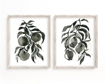 Fruits Watercolor Prints